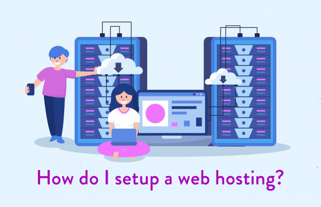 How do I setup a web hosting?